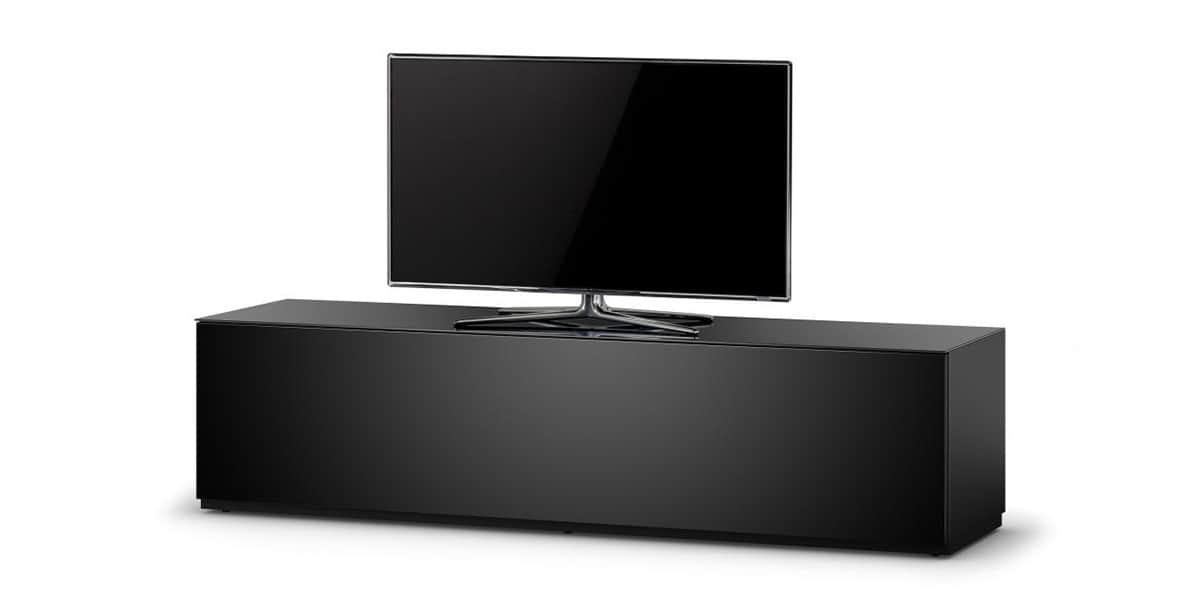 sonorous studio 160 noir meubles tv sonorous sur easylounge. Black Bedroom Furniture Sets. Home Design Ideas