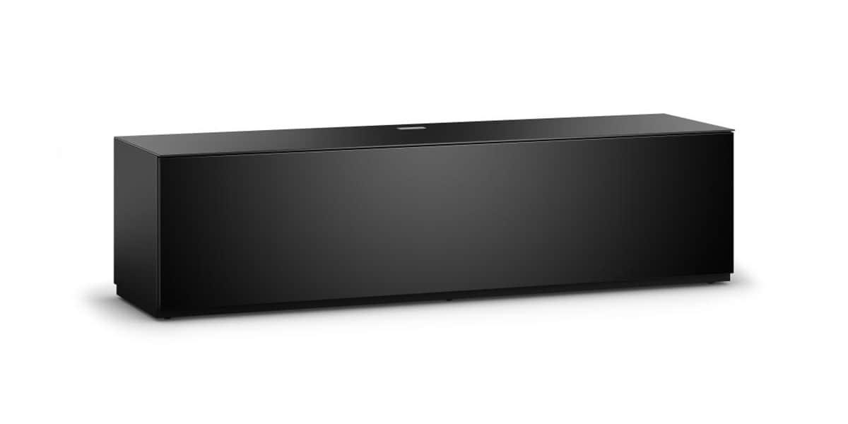 Sonorous studio 160 noir meubles tv sonorous sur easylounge - Meuble tv noir mat ...