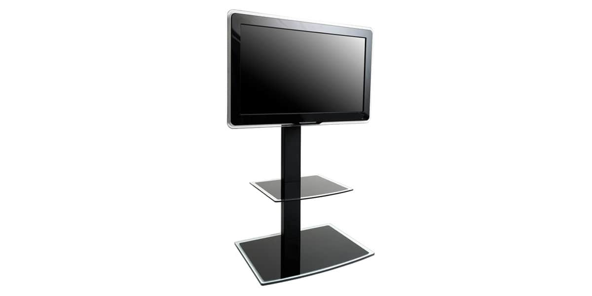 Support tv sur meuble interesting meuble tv cm namur with - Support tv escamotable ...