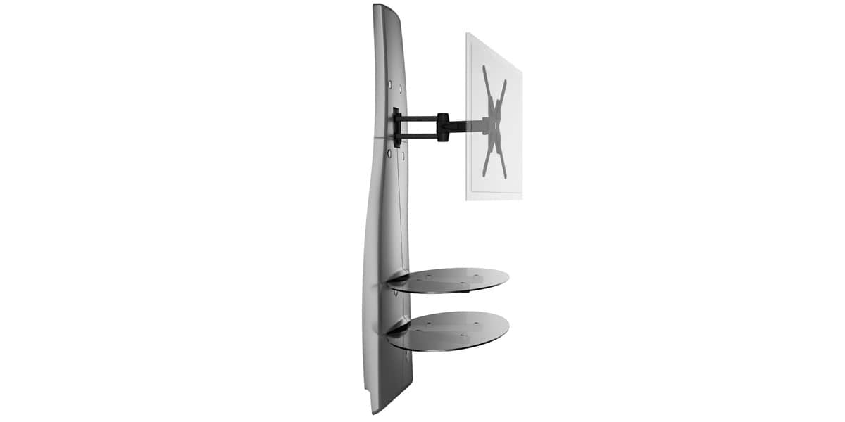 Meuble Tv Meliconi : Meuble Tv Mural Meliconi Ghost Design 2000 Dr Orientable – Neuf