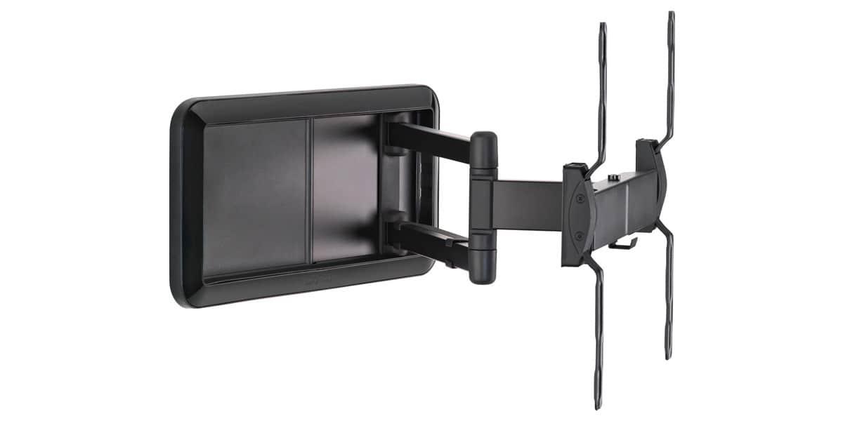 meliconi drs 400 noir 2 supports tv muraux sur easylounge. Black Bedroom Furniture Sets. Home Design Ideas