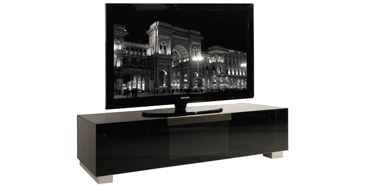 Meuble Tv Mural A Led Valentino Noir : Meuble tv design italien munari ...
