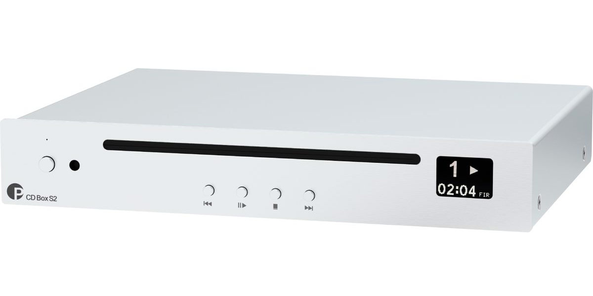 Pro-ject CD Box S2 Silver (Reconditionné)