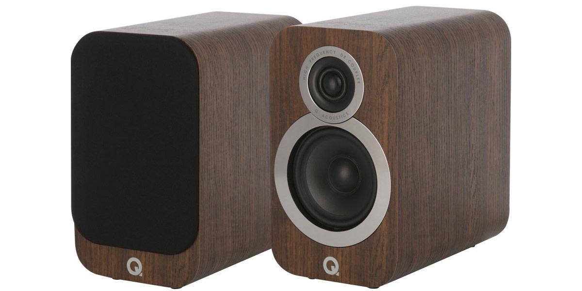 Q Acoustics 3010i Noyer (Reconditionné)