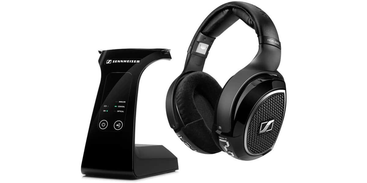 sennheiser rs 220 noir d mo casques audio sans fil sur easylounge. Black Bedroom Furniture Sets. Home Design Ideas