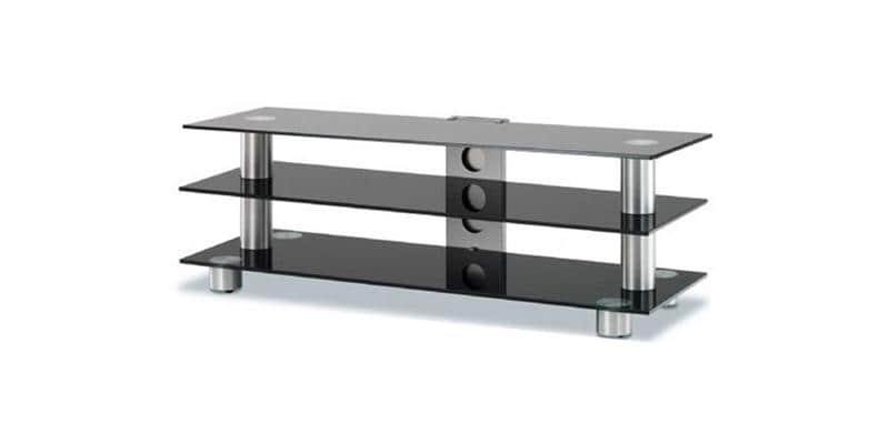 spectral screen 143 noir 2 meubles tv spectral sur easylounge. Black Bedroom Furniture Sets. Home Design Ideas