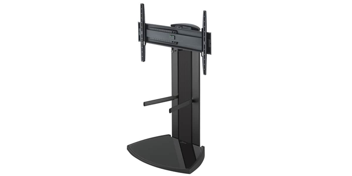 vogel 39 s eff 8340 noir 2 supports tv sur pied sur easylounge. Black Bedroom Furniture Sets. Home Design Ideas