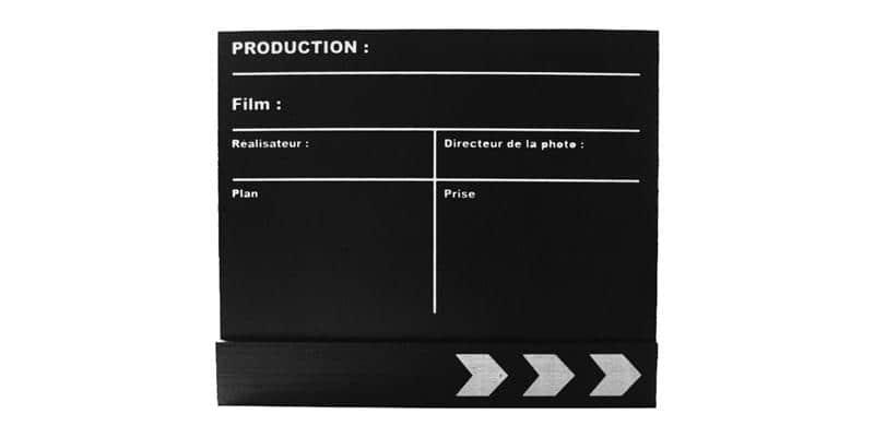 Coti Design Clap de cinéma moyen