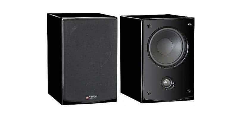 Advance Acoustic Kubik K3S Noir Laqué