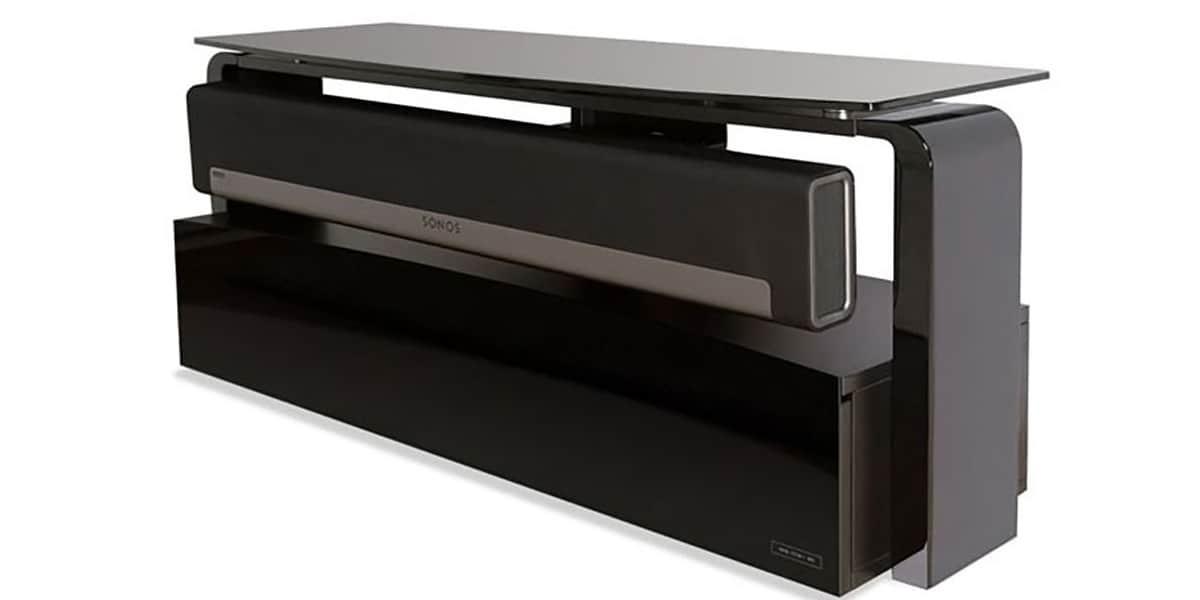 Alphason as9001 noir meubles tv alphason sur easylounge - Meuble tv infrarouge ...
