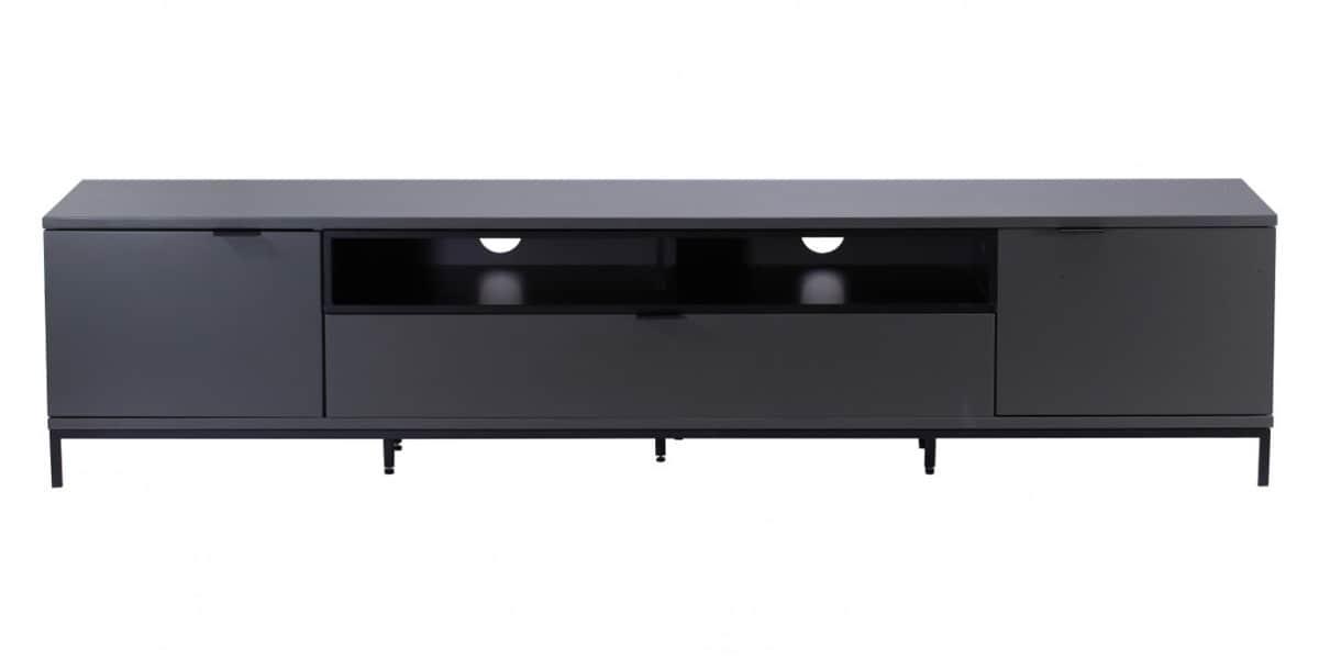 Alphason chaplin 2000 gris fonc meubles tv alphason sur for Meuble tv gris fonce