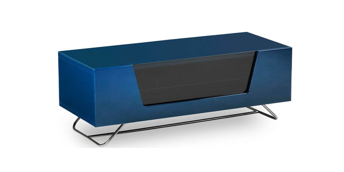 alphason chromium 2 bleu meubles tv alphason sur easylounge. Black Bedroom Furniture Sets. Home Design Ideas