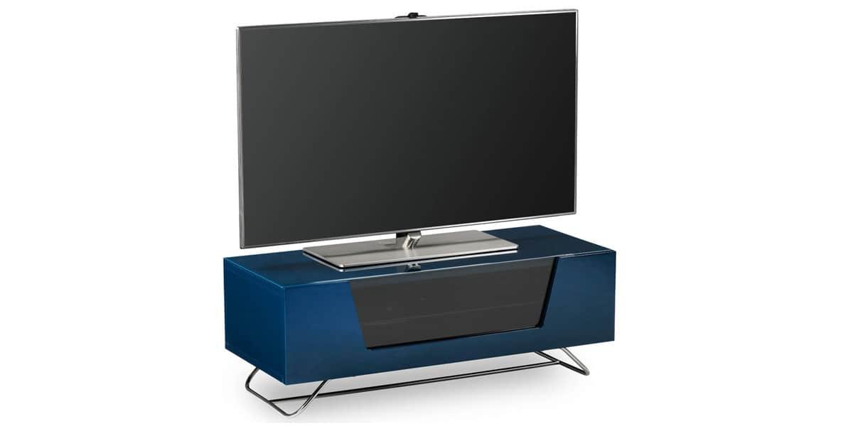 alphason chromium 2 bleu meubles tv alphason sur easylounge. Black Bedroom Furniture Sets. Home Design Ideas