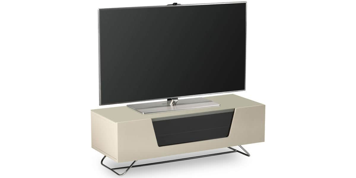 alphason chromium 2 ivoire meubles tv alphason sur easylounge. Black Bedroom Furniture Sets. Home Design Ideas