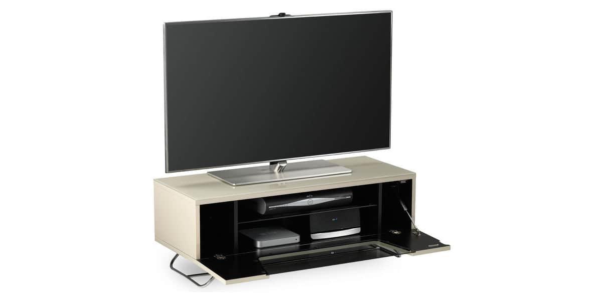alphason chromium 2 ivoire meubles tv sur easylounge