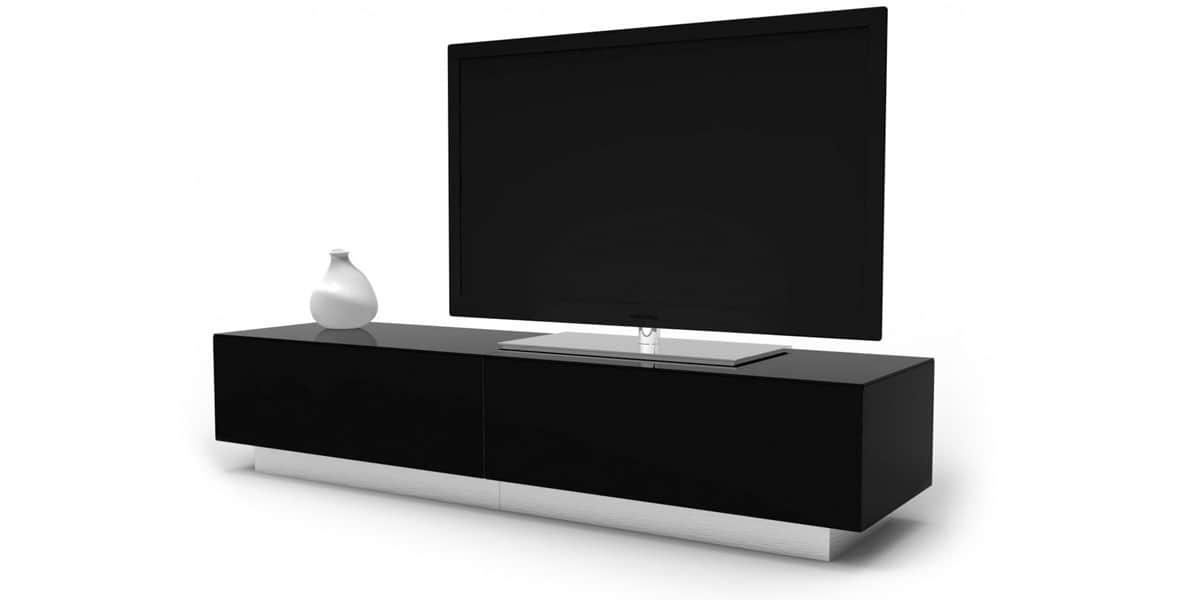 Alphason element 1700 noir meubles tv alphason sur for Element meuble tv