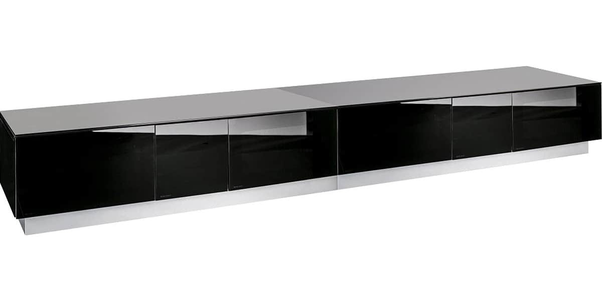 Alphason element 2500 noir meubles tv alphason sur easylounge - Long meuble tv ...