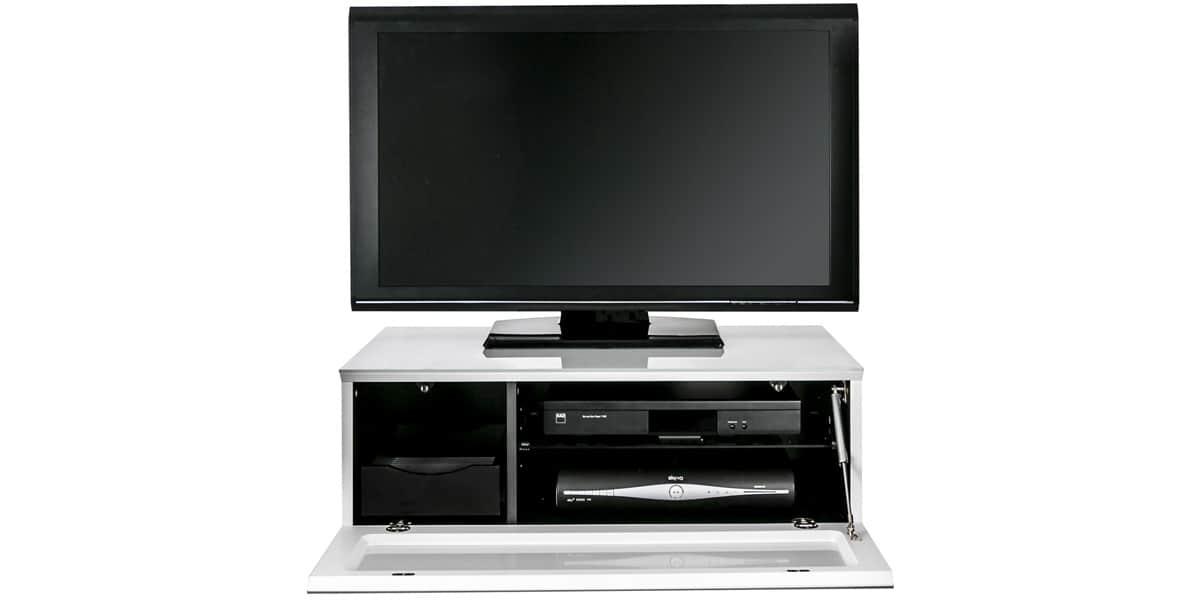 Alphason element 850 blanc meubles tv alphason sur for Element meuble tv