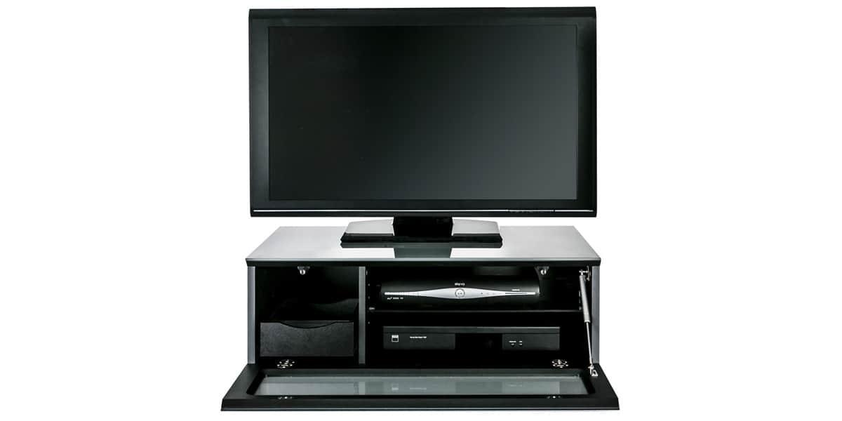 Alphason element 850 gris meubles tv alphason sur easylounge for Element meuble tv