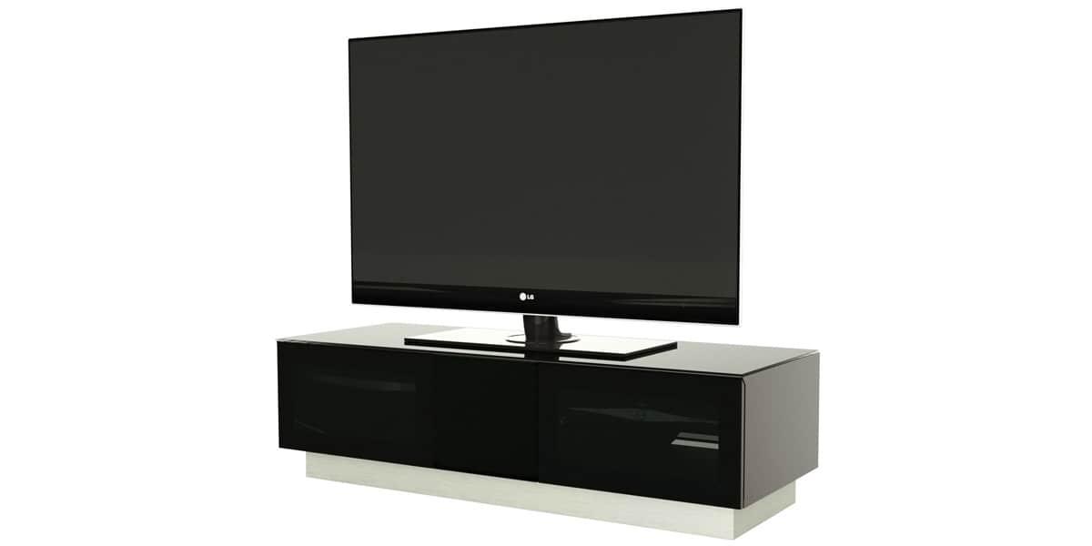 Alphason element 1250 noir meubles tv alphason sur for Element meuble tv