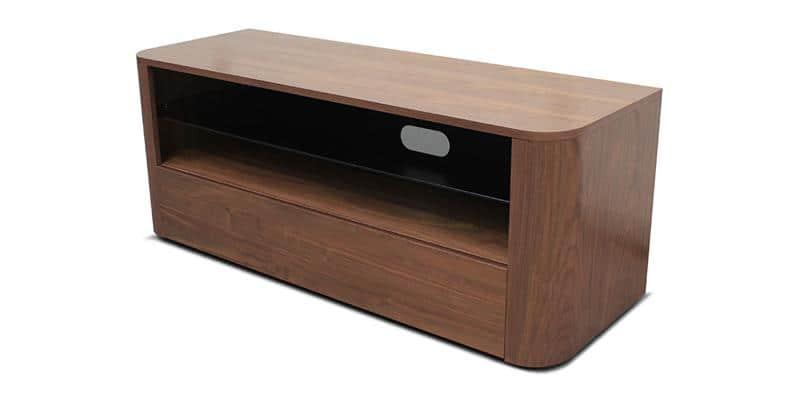 Alphason hugo walnut meubles tv alphason sur easylounge for Meuble 4 fois sans frais