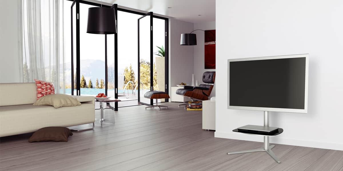 alphason radius supports tv sur pied sur easylounge. Black Bedroom Furniture Sets. Home Design Ideas