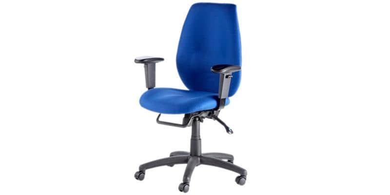 Alphason Office Trinity Tissu Bleu