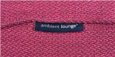 Ambient lounge Ottoman Pink