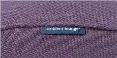 Ambient lounge Ottoman Violet