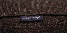 Ambient lounge Twin Couch Chocolat