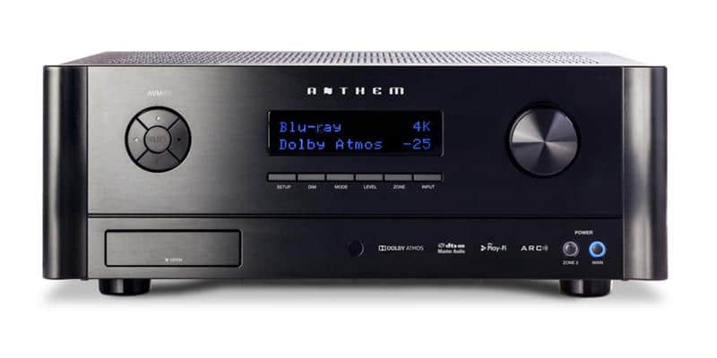 Anthem AVM 60 Noir
