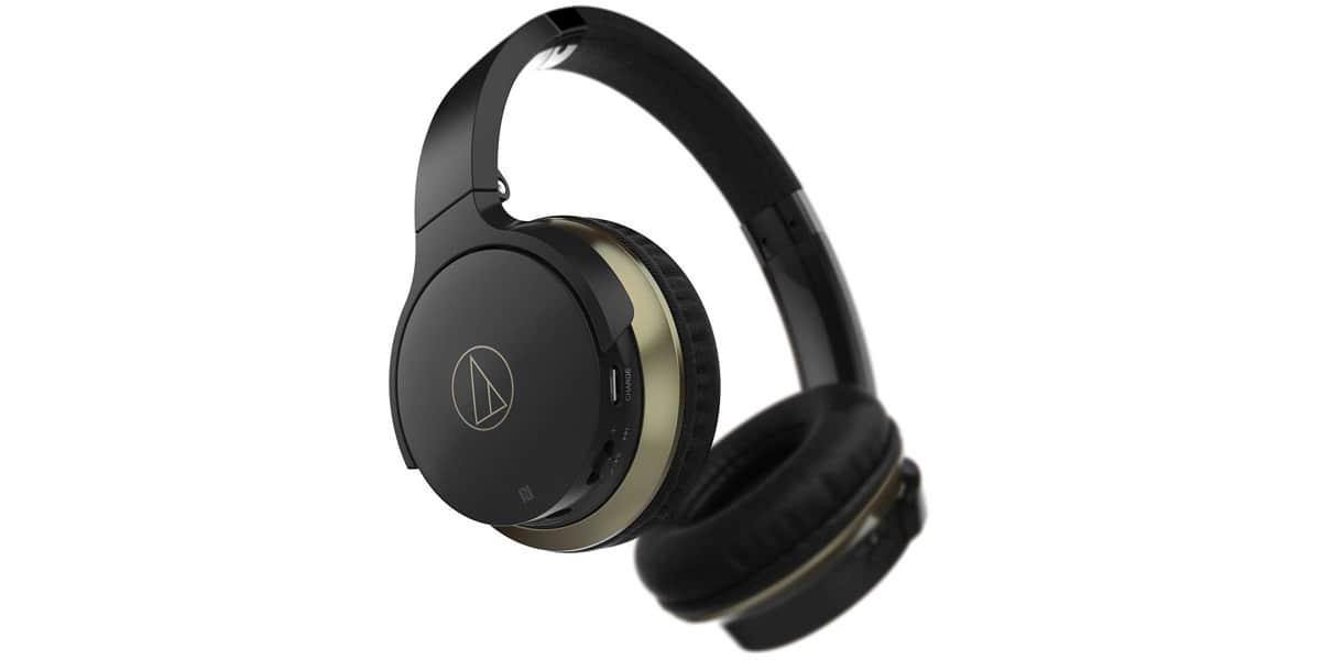 audio technica ath ar3bt noir casques audio sans fil sur easylounge. Black Bedroom Furniture Sets. Home Design Ideas