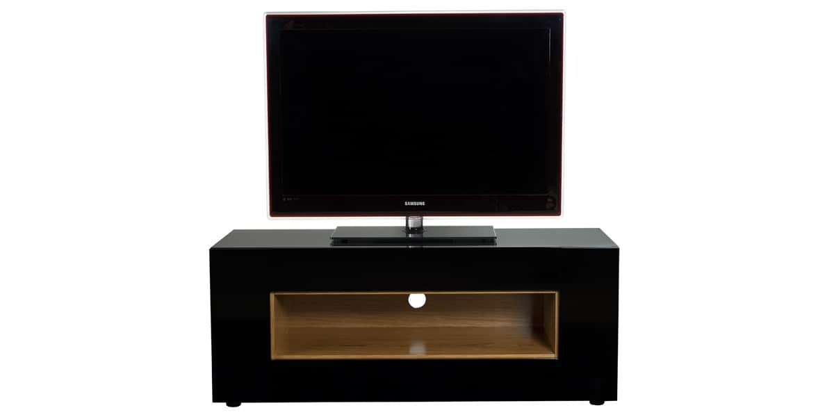 Ateca virtuose 238 noir meubles tv ateca sur easylounge for Ateca vision meuble tv