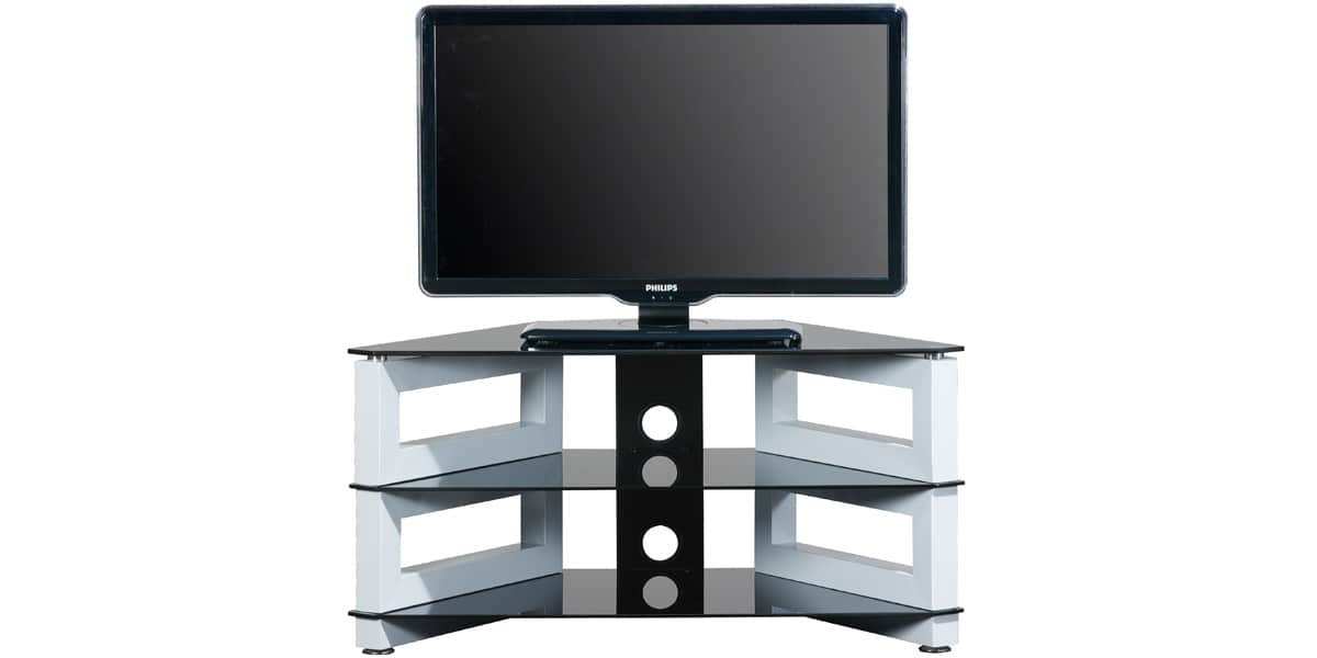 ateca op ra 318 blanc meubles tv ateca sur easylounge. Black Bedroom Furniture Sets. Home Design Ideas