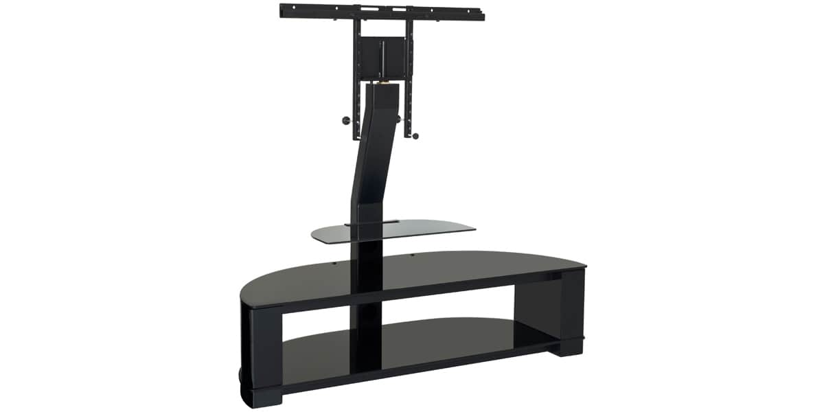Ateca digital 260 noir meubles tv ateca sur easylounge - Meuble tv 55 pouces ...