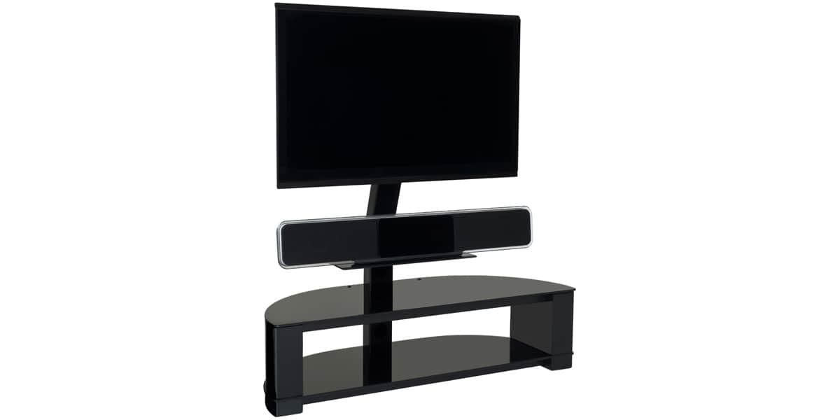 ateca digital 260 noir meubles tv ateca sur easylounge. Black Bedroom Furniture Sets. Home Design Ideas