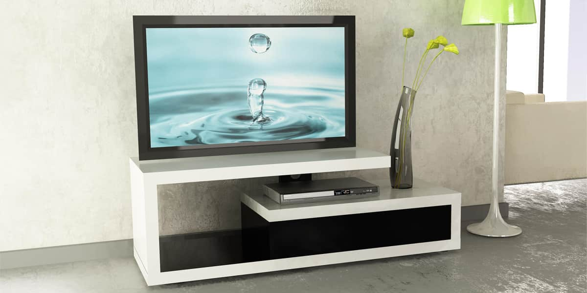 ateca graphic meubles tv ateca sur easylounge. Black Bedroom Furniture Sets. Home Design Ideas