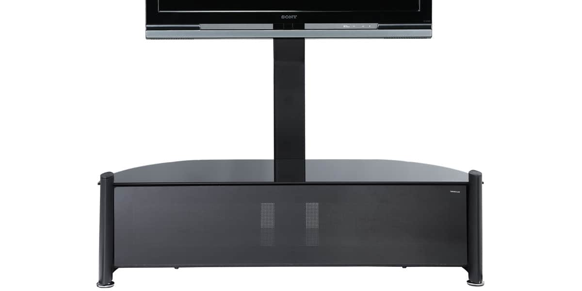 ateca unique 335 noir meubles tv sur easylounge. Black Bedroom Furniture Sets. Home Design Ideas