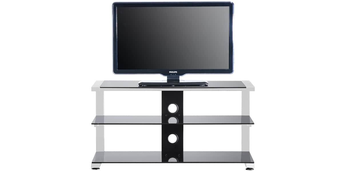ateca caprice 334 blanc meubles tv sur easylounge. Black Bedroom Furniture Sets. Home Design Ideas