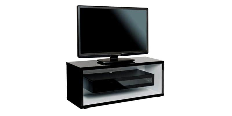 ateca majestic noir meubles tv ateca sur easylounge. Black Bedroom Furniture Sets. Home Design Ideas