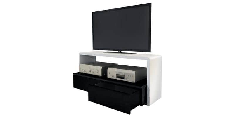 ateca ellipse meuble tv noir solutions pour la d coration int rieure de votre maison. Black Bedroom Furniture Sets. Home Design Ideas