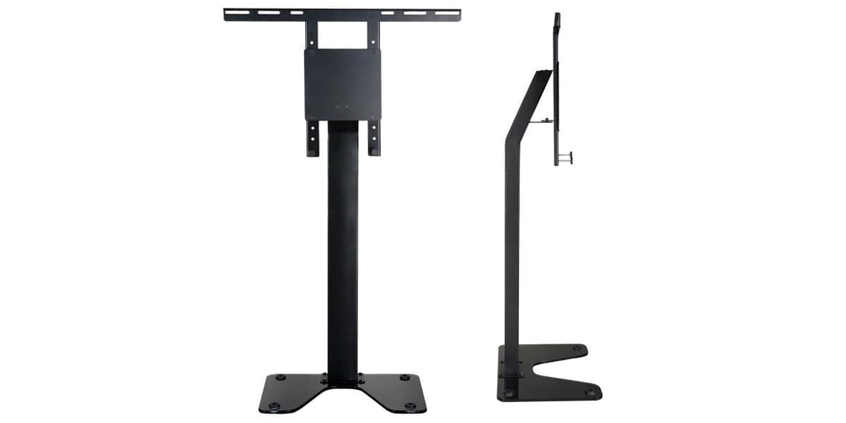 ateca suspens 228 supports tv sur pied sur easylounge. Black Bedroom Furniture Sets. Home Design Ideas