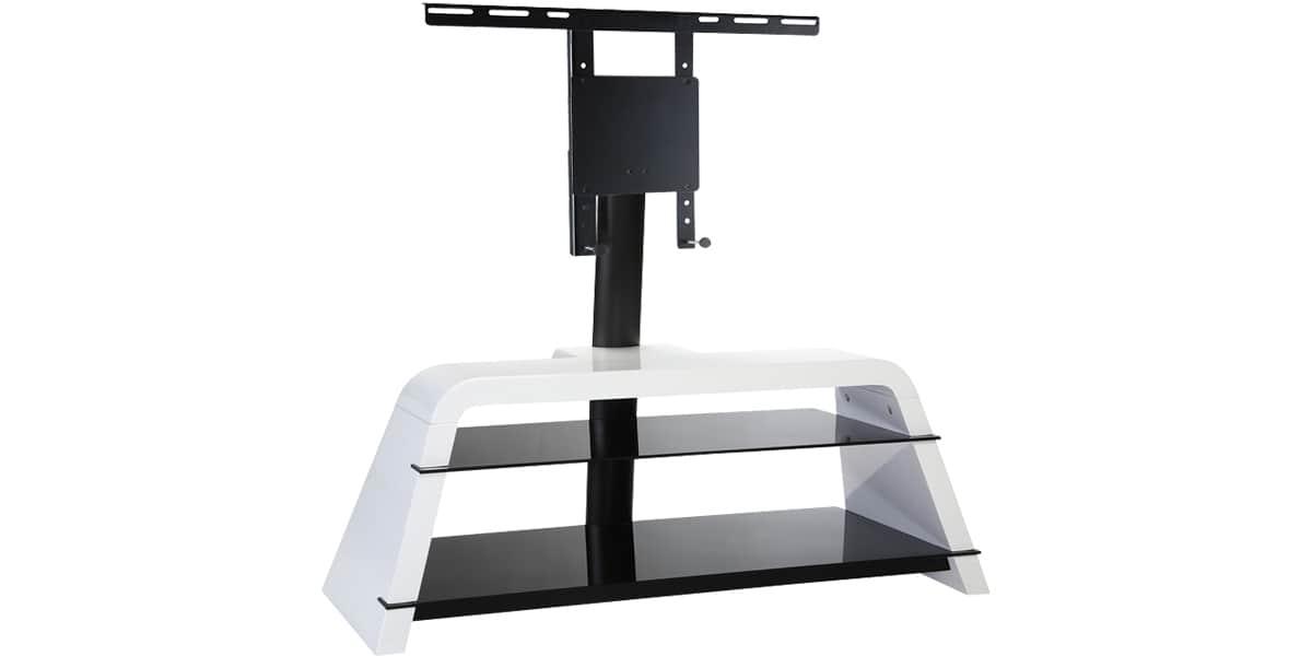 ateca variation 373 blanc meubles tv sur easylounge. Black Bedroom Furniture Sets. Home Design Ideas