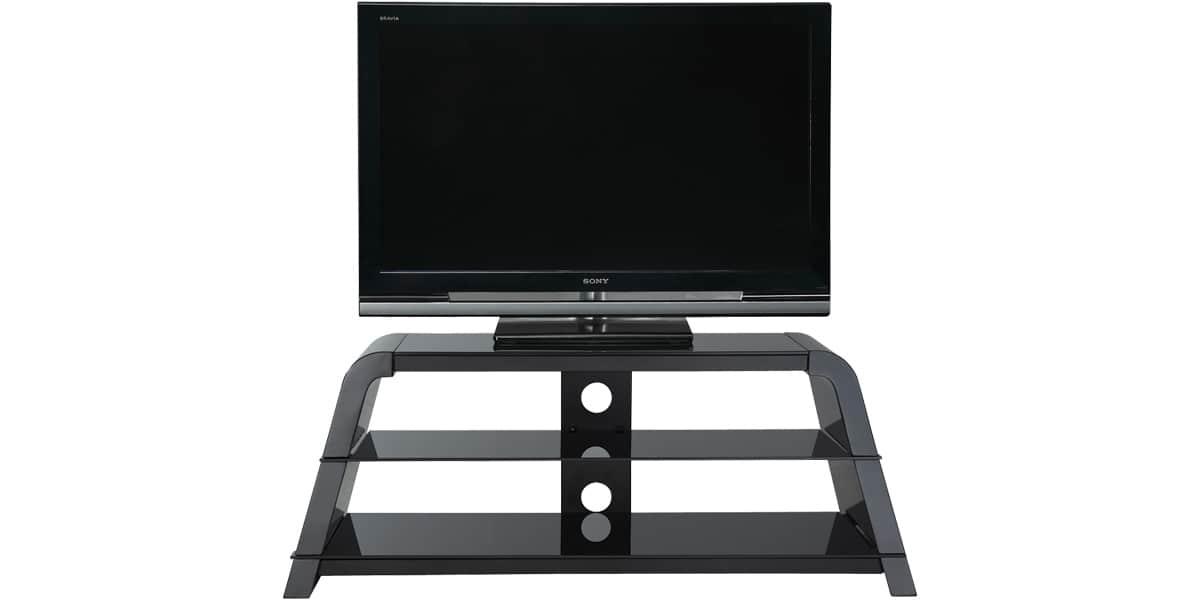 ateca variation 376 noir meubles tv sur easylounge. Black Bedroom Furniture Sets. Home Design Ideas