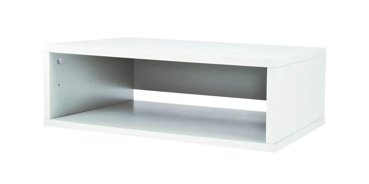 ateca turnbox s blanc - Meuble Tv Bas Ateca Turnbox S Blanc