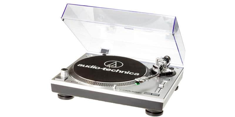 Audio-Technica AT-LP120-USB HC Silver