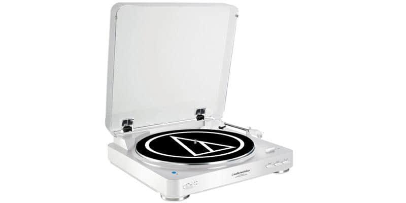 Audio-Technica AT-LP60BT Blanc