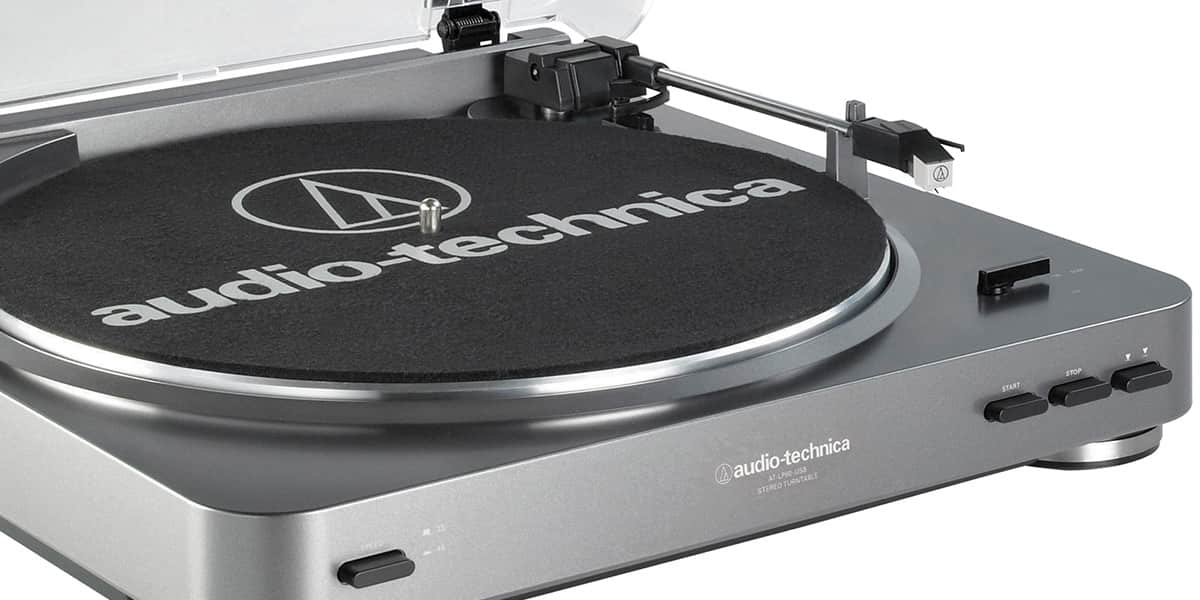 Audio Technica At Lp60usb Grise Easylounge