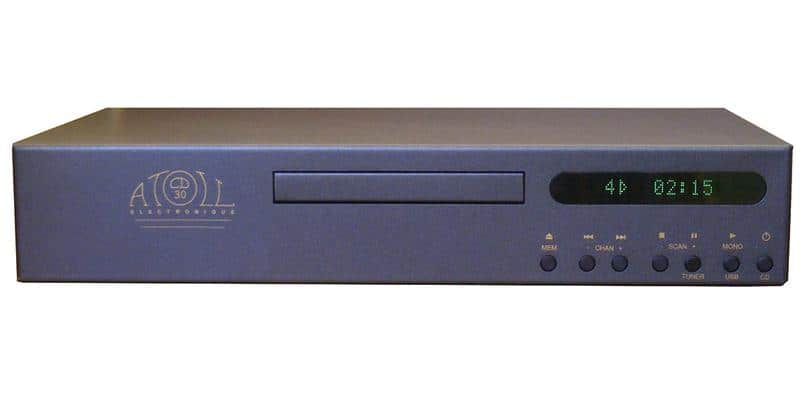 Atoll Electronique CD30T Tuner Noir