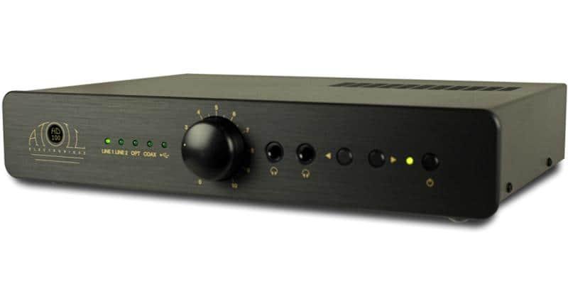 Atoll Electronique HD120 Noir